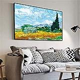 SAIDE Van Gogh und Cypress 'Cypress Oil Painting,