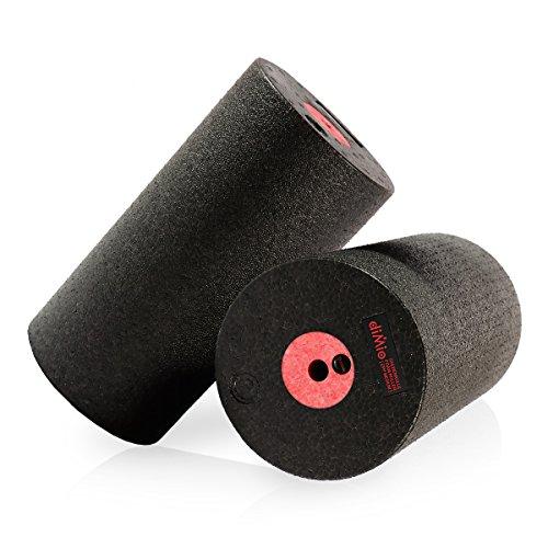 diMio Faszienrolle FlexCore zur Selbstmassage (FC-Rot, 29.5cm [MEDIUM])
