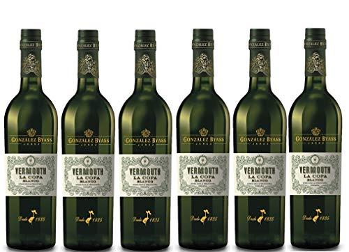 Vermouth La Copa Blanco - D.O. Jerez - 6 x 750 ml...
