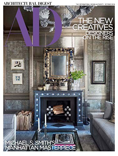 Architectural Digest Magazine (October, 2018) The New Creatives