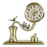 ZGP % Reloj clásico Reloj del Escritorio, Metal Creativo, Reloj Mudo Moda,...