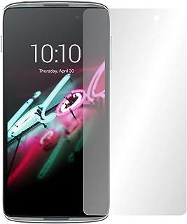 Slabo 4 x displayskyddsfolie för Alcatel Onetouch Idol 3 (5,5 tum) displayskydd skyddsfolie Crystal Clear osynlig Made IN ...