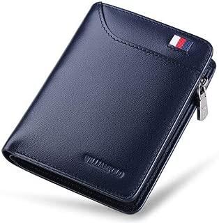 Brand Genuine Leather Men Wallet with Card Holder Man Luxury Short Wallet Purse Zipper Wallets Casual Standard Wallets pl293