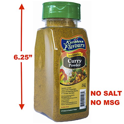 Karibbean Flavours Caraibi curry in polvere Spice Sensations (Curry, 270 grammi)