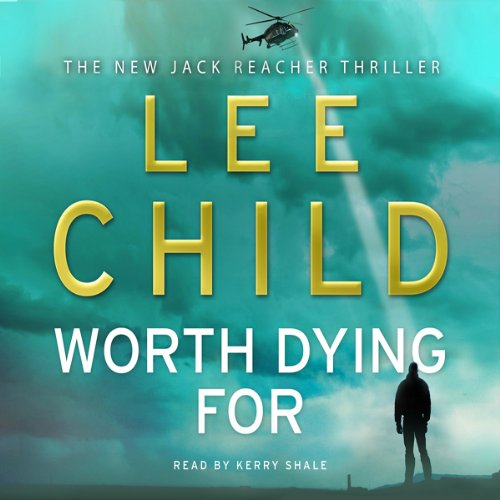 Worth Dying For audiobook cover art