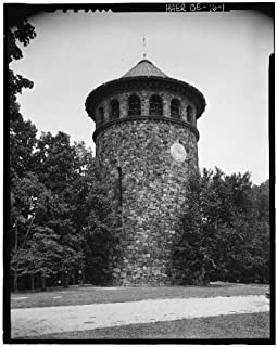 HistoricalFindings Photo: Rockford Water Tower,Rockford Park,Wilmington,New Castle County,DE,Delaware