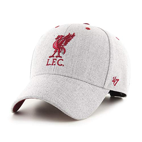 47 Brand EPL Liverpool FC Storm Cloud MVP Cap - Charcoal