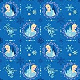 """Officially Licensed DISNEY Fabric 1/2 Yard x 44"""" Wide - Need More than 1/2 Yard? Whenever Possible This Will Ship as ONE CONTINUOUS PIECE 100% Soft Cotton FLANNEL -- Machine Washable Wonderful for Craft Projects, Sewing and Quilting Ideal for Making ..."""