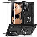 Note 20 Ultra 5G Hülle Schutzfilm Kompatibel mit Samsung Galaxy Note 20 Ultra 5G Handyhülle Schutzhülle Silikon Cover Stoßfest Handy Hülle Mit Kickstand für Samsung Note 20 Ultra 5G 360 Grad Hülle