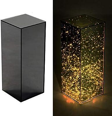 Lámpara de escritorio LED, lámpara de mesa de cristal romántica, material de cristal, oficina creativa, luz de noche de regalo, lámpara de mesa de decoración de barra, luz de noche de barra
