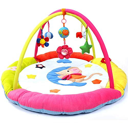 Great Features Of Yuybei Baby Play mat Newborn Baby Game Pad, Music and Rattle, Suitable for Birth B...