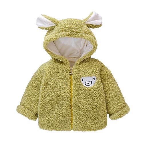 Vectry Chaqueta De Cuero Niña Pijama Polar Ropa Bebe Niña Jersey Pelo Niña Sobrepijama Bebe Camisa Niña Cuello Volante Chalecos De Niña Ropa Bebe Prematuro Abrigo Rosa