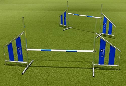 Callieway - Juego de 2 barras para agilityhürde (aluminio)