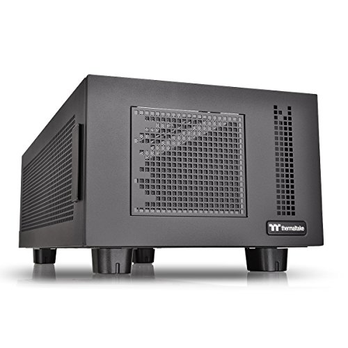 Thermaltake Core P100 Black computer case - computer cases (PC, SPCC, Black, 120,140 mm, 120,140,200 mm, 120,140 mm)