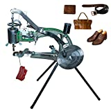 ColouredPeas (the Latest Upgraded Version 10 -Bearings) Shoe Repair Hand Sewing Machine, Shoe Cobbler Machine with Nylon Line, Manual Mending for Shoes/Bags/Clothes/Quilts/Coats/Trousers