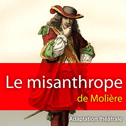 Le misanthrope audiobook cover art