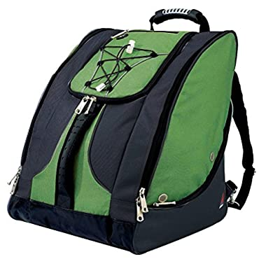 Athalon Everything Ski Boot Bag 2018 - Green-Black
