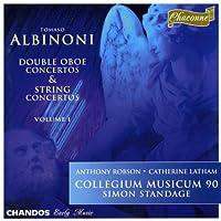 Albinoni: Double Oboe Concertos & String Concertos, Vol. 1 (1996-12-03)