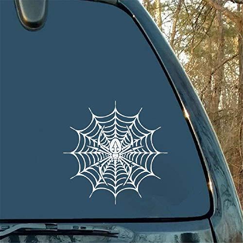 Spider in het web auto styling persoonlijkheid auto sticker motorfiets decoratieve sticker voor auto laptop raam sticker