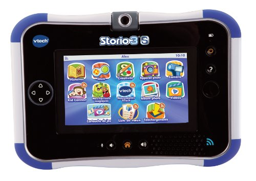 Vtech - 158805 - Jeu électronique - Tablette tactile - Storio 3s - Bleu - Sans Power Pack