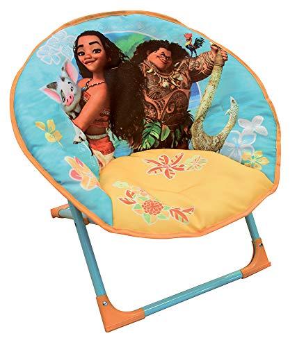 Fun House 712961 Disney VAIANA Siège Lune Pliable pour Enfant, à partir de 3 Ans