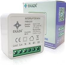 Interruptor mini Modulo Embutido EKAZA T109 WiFi, Branco, EKHY-T109-Mini