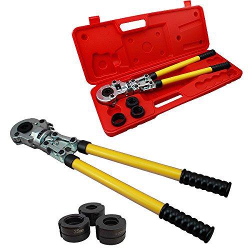 HG® Pressfitting Preßzange Rohrpresszange Presszange Verbundrohr PEX PE-X 16-32 mm Alurohr Aluminiumrohr Presswerkzeug