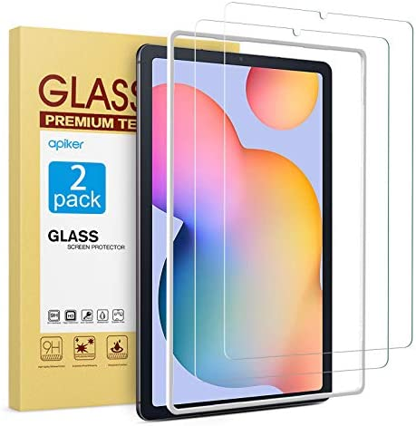 apiker 2 Pack HD Tempered Glass Screen Protector Compatible with Samsung Galaxy Tab S6 Lite product image