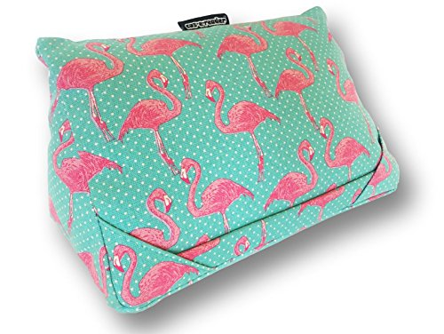 coz-e-reader i-Pad and Tablet Cushion in Flamingo Print