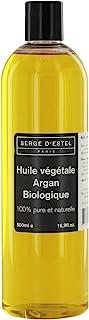 Aceite de Argán Orgánico 500ml. Primera Prensa en Frío. Calidad Superior. Cabello Seco Estropeado y Sin Brillo. Tratamiento Antiarrugas.