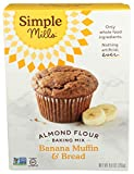 Simple Mills Almond Flour Baking Mix, Gluten Free Banana Bread Mix, Muffin Pan Ready, Made...