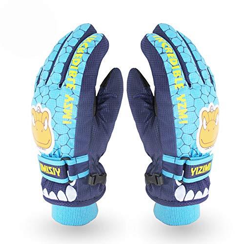 X.A スキーグローブ キッズ 子供用 スノボーグローブ 手袋 防寒 撥水 防風 暖かい すべり止め 雪かき アウ...