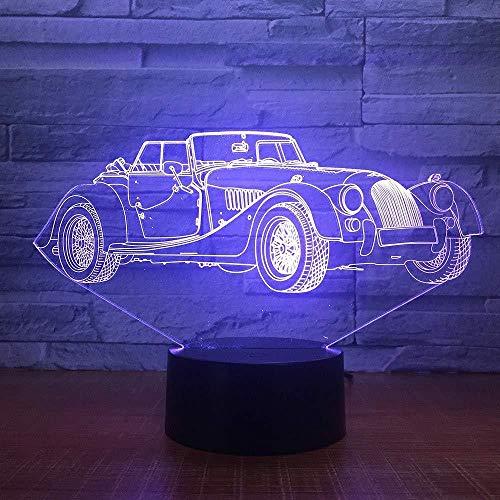 Presentatie van Dias 3D afstandsbediening geschenk licht 3D lamp kleurrijk nachtlicht 3D kleine animatie 3D cartoon 3D nachtlicht LED slaaplicht