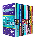 Jacqueline Wilson 9 Books Collection Set (Bad Girls,Clean Break, Dustbin Baby, My Sister Jodie, Secrets, Lola Rose, Lily Alone, The Diamond Girls & Midnight)