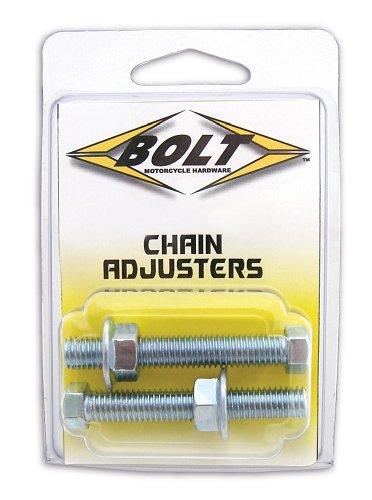 BOLT Motorcycle Hardware (2006-CH) Chain Adjuster Nut Assembly