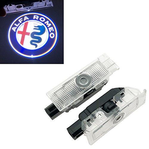 Inlink 2 pezzi Logo illuminazione porta 12 V High Definition portiera auto proiezione lu