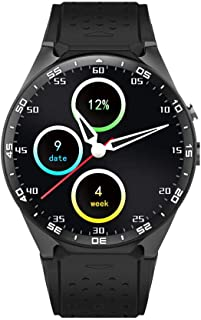 3G WCDMA Smartwatch Phone 1.39 inch UHD AMOLED Full Round Screen