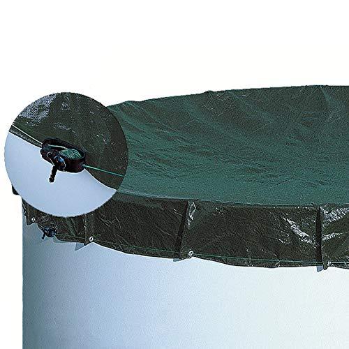 Unbekannt Abdeckplane achtform/ovalform 3,20 m x 5,25 m Schwimmbad Pool Abdeckung