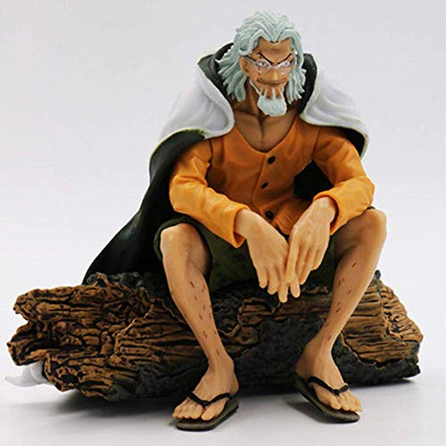 NLRHH 13 CM Animados Carácter Modelo UNA Pieza Plutón Silvers Rayleigh Maestro de la Figura de acción de Luffy Colección Estatua Decoración Una Peng (Color : B)