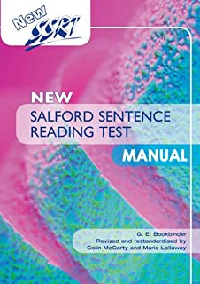 New Salford Sentence Reading Test: Manual