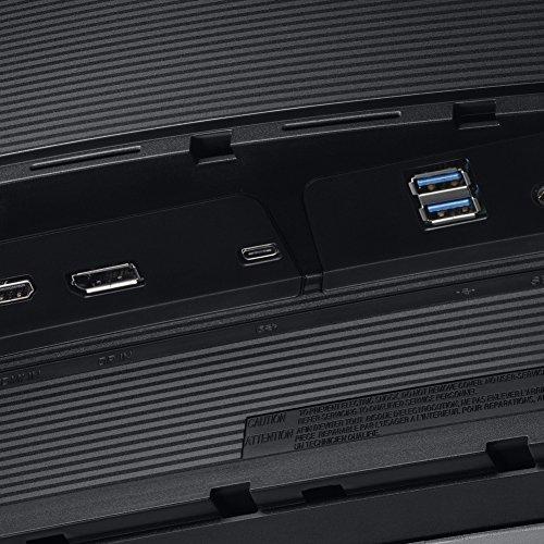 Samsung C34H890WJU 86,36 cm (34 Zoll) LED Curved Monitor dunkelsilber