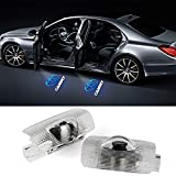 (4 Pack )Compatible Toyota camry Door Logo Lights Projector LED 3D Shadow Ghost Light For Toyota Camry Puddle Light Accessories