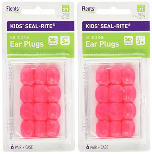 Flents Kids Silicone Ear Plugs, 2 Count