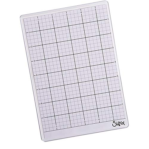 Sizzix Accessory Sticky Grid Sheets 6' x 8 1/2' 5 Pack, Multicolor 5