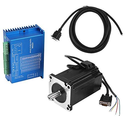 Servo controlador híbrido AC20V~80V HSS86 + NEMA34 motor de