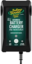 Battery Tender Junior Charger and Maintainer: 12 Volt, 800mA Battery Charger for Lead Acid and Lithium Batteries - Switcha...