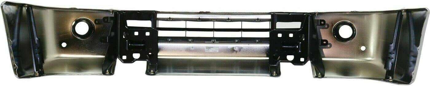 JJ Chrome Front Bumper Face Bar 12-19 NV1500 depot Seattle Mall Ca with Compatible