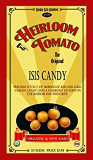 Isis Candy Heirloom Tomato - 10 Seeds - Organic and Non-GMO