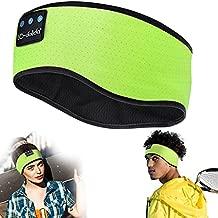 Sleep Headphones Bluetooth Headband, Wireless Music Sleeping Headphones Sports Headband Noise Cancelling Bluetooth Sleep Mask for Sleeping, Workout, Jogging, Yoga, Insomnia, Air Travel, Meditation