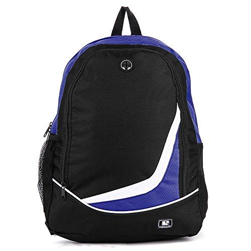 Nylon Blue Backpack for Google Chromebook 12.85, Gateway NV Series 15.6